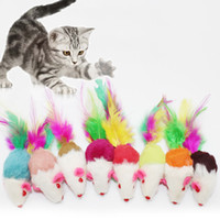Wholesale Diy Rack - Cat Toys Colorful Mouse Embedded Gravel Inside Voice DIY Cat Climb Rack 2 Inches Fun Interactive Pet Toys Pet Supplies