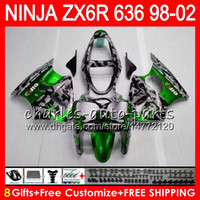 Wholesale kawasaki ninja for sale - 8Gifts kit For KAWASAKI NINJA ZX636 ZX R ZX CC ZX NO95 Camouflage ZX6R ZX R Fairing