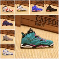 Wholesale Red Recording Light - Novelty Basketball Shoes Sneakers Keyrings Charm Key Chain Rings 20 Styles Fashion Sneakers Keychains Hanging Accessories C90L