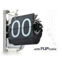 Wholesale Retro Flip Down Clock Internal - Wholesale- SZS Hot Black Retro Flip Down Clock-Internal Gear Operated Flip Home Clock USA Shipping