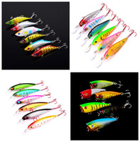 Wholesale 6 color Plastic Hard Baits Lures Hook Fishhooks D Minnow Fishing Lure Hooks Artificial Pesca Tackle Accessories