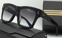 Wholesale Hot Pink Designer Eye Frames - new men sunglasses creator model square vintage retro style men brand designer sunglasses UV400 lens gold plated hot fashion design
