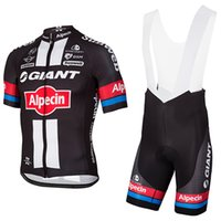 Wholesale Giant Maillot - Free shipping Giant cycling jersey mens team pro cycling wear Ropa Ciclismo summer breathable GIANT bike Maillot Culotte