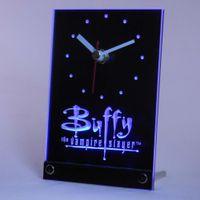 Wholesale Buffy Vampire Slayer - Wholesale-tnc0219 Buffy the Vampire Slayer Table Desk 3D LED Clock