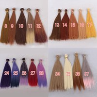 Wholesale Blythe Wig 12 - 1pcs 25cm*100cm BJD wig hair for blythe doll hairs for 1 3 1 4 1 6 Ball jiont doll