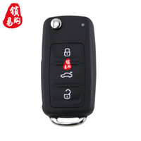 Wholesale Volkswagen Folding Key - Factory Sold Directly A Restructuring Folding Remote Controler for VW Car Key for VW 202AD