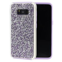 Wholesale Heavy Duty Mobile - For Samsung Galaxy S8 S8+ Plus Edge Bling Heavy Duty Protective Tough Silicone PC 2 in 1 Mobile Phone Case