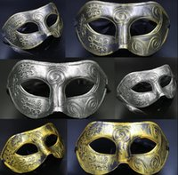 Wholesale knight mask for sale - Group buy Masquerade Masks Halloween Costumes Halloween Mask Half Face Party Masks Masquerade Knight Prince Masks Mardi Gras Gifts