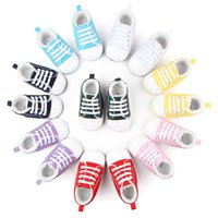 Wholesale Velvet Fabric Baby Shoes - Winter Warm Baby Sneakers Walking Shoes with Velvet Lace-up Anti-slip Soft Sole for Boys Girls Multi Colors