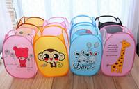 wäschebekleidung korb großhandel-New Folding Schmutzige Kleidung Wäsche Ablagekorb Kinderspielzeug Schuhe Kleinigkeiten Storage Organizer