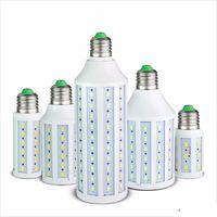 luzes led iluminação milho venda por atacado-E27 E14 B22 5730 5630 SMD DIODO EMISSOR de Luz de Milho CONDUZIU a lâmpada de iluminação AC 220 V 110 V 5 W 10 W 15 W 25 W 30 W 40 W 50 W branco / quente luz branca Holofotes