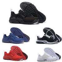Wholesale new Air Presto Blackout running shoes Air Presto ultra Olympic BR QS Women Men Running Fashion athletic bred navy blue Air sneaker