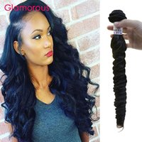 Wholesale Virgin Remy 2pcs - Glamorous Indian Hair Bundles 2Pcs Lot Cheap Human Hair Weave Italian Wave Brazilian Malaysian Peruvian Wavy Hair Extensions for black women