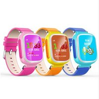 "Wholesale Positions English - smartwatch for kids smart watches phone children gps tracker watch safety tracker Q80 1.44"" colorful touch screen networking position"