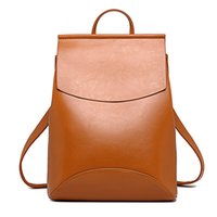 Wholesale Girl Bags For High School - Fashion Women Backpack High Quality Youth Leather Backpacks for Teenage Girls Female School Shoulder Bag Bagpack mochila