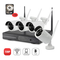 Video listing Pas Cher-YSCAM Nouvelle Annonce Plug and Play Wireless NVR Kit P2P 720P HD Outdoor IR Night Vision Security Caméra IP Système WIFI CCTV avec 1 To HDD
