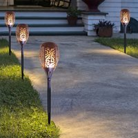 Artificial Plants outdoor artificial plants - Garden Torch Lawn lamp Solar Lights Large Size x12CM LED Corridor Tubular Lamp Lawn Light Outdoor Waterproof Festival Decorations W