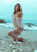 Wholesale Plus Size Upper Garments - Lace Sandy Beach Bikini A Housing Unlined Upper Garment Longuette Posimi Second Tassels S