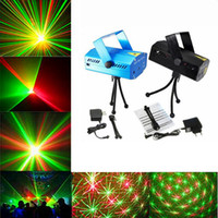 Wholesale Led Stage Wedding - Mini LED Laser Stage Lights Lighting Adjustment Disco DJ Party Home Wedding Club Projector free shipping