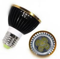 Wholesale Dimmable Led Light Bulb Cheap - Cheap 5 pcs par20 LED Bulbs PAR 20 Cree light Dimmable 9W 12W 15W Spotlight E27 GU10 E14 B22 White Warm indoor lighting 110V-240V