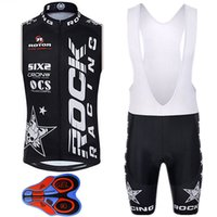 Wholesale Woman Vest Xs Grey - Summer Style Cycling Vest Set Short Sleeves Cycling Jerseys With 9D Gel Padded Shorts Size XS-4XL MTB Ropa Ciclismo For Men Women