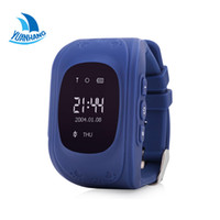 Wholesale Baby Moods - Wholesale- 2017 Smart Phone Kids Safe GPS Watch Wristwatch SOS Call Location Finder Locator Tracker for Children Baby Anti Lost Monitor Q50