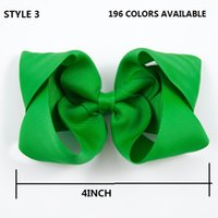 Wholesale Girls 4inch Bows Headband - 15% off ! 4INCH HAIR BOWS BOUTIQUE HAIR CLIP PIN ALLIGATOR CLIPS RIBBON BOW GIRL TWISTED BOUTIQUE BOW Hair accessories 36PCS