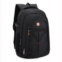 Wholesale Laptops 14 - Wholesale- Brand Swiss men laptop backpack computer back bag sac a dos backpacks Travel oxford waterproof 14 15.6 inch bags