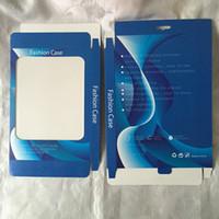 ipad kasası kutusu toptan satış-Moda Perakende Paketi Için Fit Ipad 2 3 4 / Hava Hava 2, iPAD 5 6 Tablet Deri Kılıf Asmak Evrensel Kağıt + PVC PC Ambalaj Kutu Çantalar Cilt
