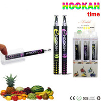 Wholesale e shisha mod online - High quality Colorful Brand disposable vape pen e cigarette Ehookah time shisha pen starter kits vaporizer pen puffs vapes juice mod