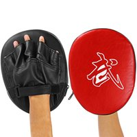 Wholesale Focus Gear - 1pc Target Hook Jab Focus Punch Pad Training Glove Mitts Suitable For Thai Boxing Kickboxing Karate Taekwondo Other Martial Arts +B