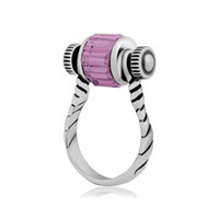 Wholesale Jewelry Made Screws - Stainless Steel Steampunk Fashion Screw Finger Ring Horseshoe Crystal Big Mixed Color Hole Beads Making For Jewelry Findings For Men & Women
