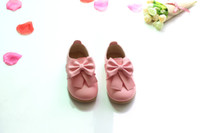 Wholesale Baby Dot Prints - Casual Children Shoes Candy Color Girls Shoes New Autumn Bow Fahion Baby Girls Sneakers Kids Soft Single Shoes Size 21-30