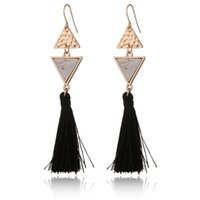 Wholesale Vintage Small Chandelier - Find Me 2017 Fashion Vintage Ethnic Drop Earrings for Women Boho small star Long tassels Earrings statement Jewelry wholesale Free shipping