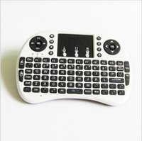 Wholesale Rii I8 Smart Fly Air Mouse Remote Backlight GHz Wireless Keyboard Remote Control Touchpad For S905X S912 Android TV Box MXQ T95