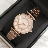 Wholesale pink rose quartz jewelry - 2017 wholesale Luxury Women Watches Rose gold Quartz Japan Movement Dress Watch with diamond Bracelet Hign Quality Lady pink Brand Watch