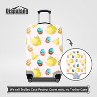 Wholesale Trunk Trolley Bags - Women Travel Accessories Luggage Cover Protector Elastic Stretch Trolley Suitcase Cover For 18-30 Inch Trunk Protective Case On Travel Bags