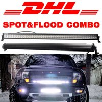 "Wholesale Offroad Fog Driving Light Atv - 52"" Inch 400W Combo Spot Flood LED Light Bar for Work Driving Boat Car Truck 4x4 SUV Jeep Truck Ford UTV Trailer ATV Offroad Fog Roof Lamp"