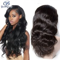 Wholesale Cheap Wigs Free Delivery - Top Full Lace Front Wigs Free Shipping Body Wave Fast Delivery 100% Peruvian Human Hair Body Wave Cheap Lace Front Wigs