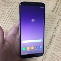 Wholesale Chinese Smartphone Copies - Real fingerprint Goophone S8+ 5.8 inch fake 6.2inch Android7.0 smartphone Quad Core 1GB+8GB show fake 64GB 4G LET Octa Core copy phone