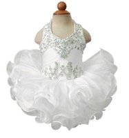 Wholesale Cap For Girls Photos Cute - Hot 2016 Sequined Tutu Flower Girl Dresses for Weddings Pageant Ball Gown Baby Dress Toddler Infants Girls Sweet Cute Party Chiffon Tutu