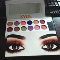 Wholesale Make Up 12 Colors - 2PCS Kylie eyeshadow palette makeup Holiday Edition Cosmetics The Royal Peach Kyshadow Palette Preorder 12 colors eyeshadow make up