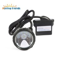 explosion de batterie au lithium achat en gros de-10pcs / lot Lithium Battery Safety Miner Lampe KL6M.Plus Rechargeable Headlamp 1 + 6 LED Mining Cap Lamp Explosion Rroof Headlight
