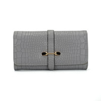 Wholesale Long Fold Wallet - Triple Folding Wallet Pouch Multifunction Credit Card Package Luxury Long Purse Woman Clutches Fashion Casual Bag VKP1421