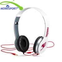 Wholesale Headphone White - Stereo Headsets Foldable 3.5mm Over-head Wired Headphones Fairy Tail Headphones Kids for Iphone Samsung Computer Laptop HTC White MERRISPORT