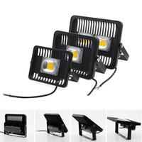 Wholesale New Wall Lights - New Arrival 30W 50W 100W Led Flood Lights Outdoor Ligrting Waterproof Led Floodlights landscape lighting AC 85-265V