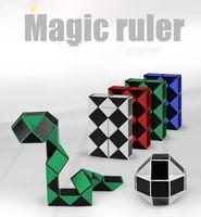 Wholesale Mini Cube Puzzle - Mini Creative Magic Snake Shape Toy Game 3D Cube Puzzle Twist Puzzle Toy Gift Random Intelligence Toys Supertop Gifts