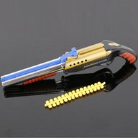 Wholesale Double Bullet Toys - Double BB Soft Bullet Shells Can Be Fired Pistols Toy Gun Toys (Color: Black)