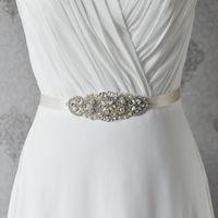 Wholesale Wholesale Designer Prom Dresses - 10pcs lot Low Price Beautiful Bride Wedding Dress Belt 10 Colors Satin Women Designers Long Belts Party Prom Sashes R76 Waistband