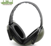 Wholesale Hear Protection - Wholesale new Ear Protectors Anti-noise Earmuffs Tactical Outdoor hunting Shooting Hearing Protection Ear Soundproof Ear Muff Free shipping